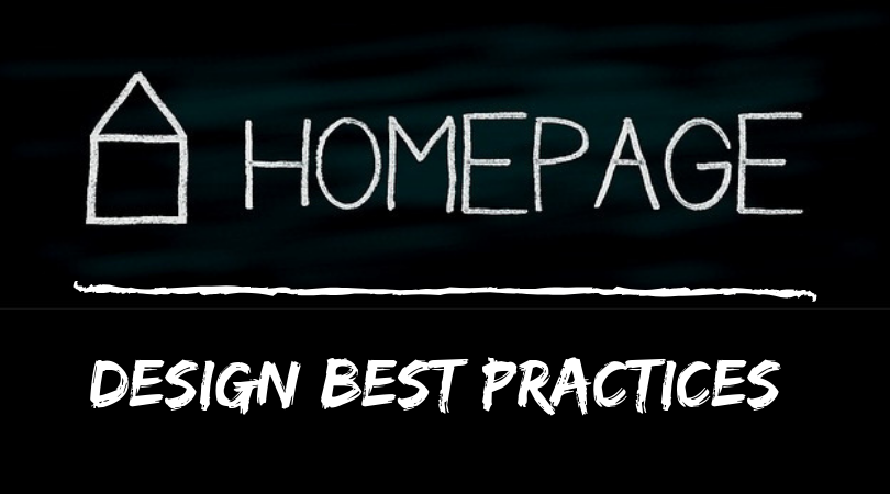 Homepage Design:  Best Practices
